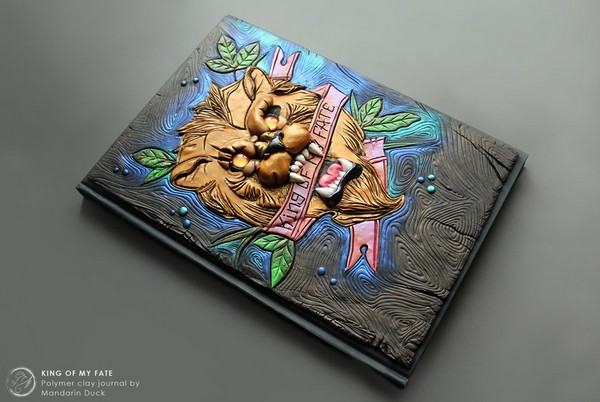 Mandarin Duck 奇幻软陶雕塑封面艺术2