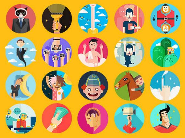 UID WORKS 100种无聊的症状动态图