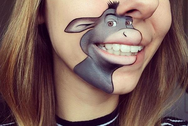 Laura Jenkinson 趣味化妆师嘴型化妆艺术集