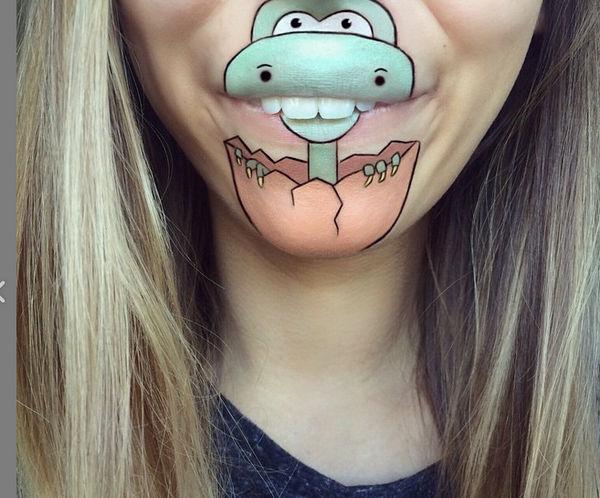 Laura Jenkinson 趣味化妆师嘴型化妆艺术集2