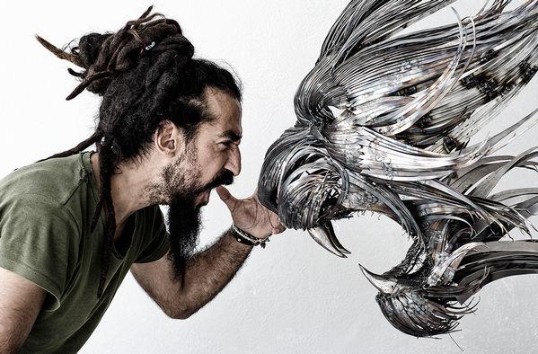 Selcuk Yilmaz 金属雕塑艺术作品集
