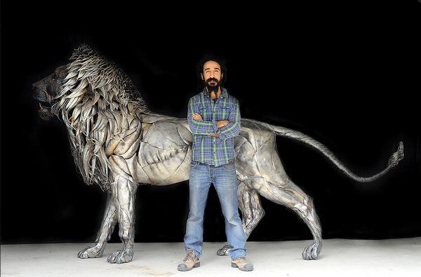 Selcuk Yilmaz 金属雕塑艺术作品集4