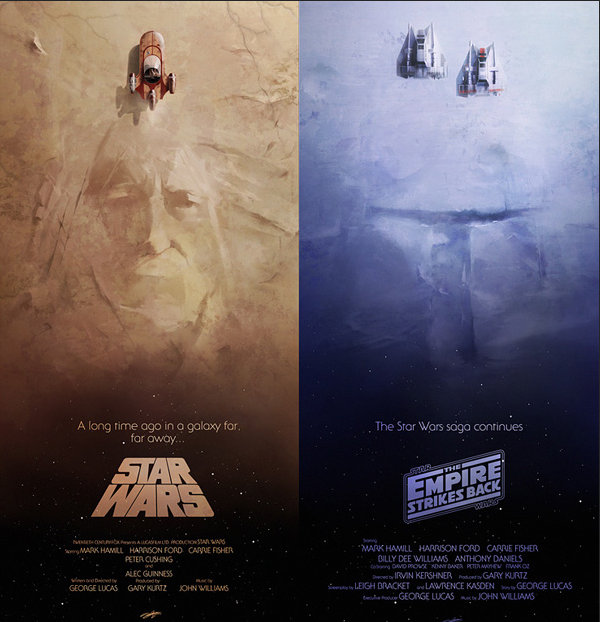 Andy Fairhurst 上帝模式电影海报欣赏,《星球大战》系列
