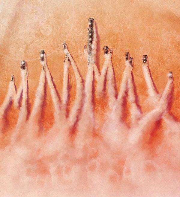 Andy Fairhurst 上帝模式电影海报欣赏,《疯狂的麦克斯4:狂暴之路》(Mad Max: Fury Road)