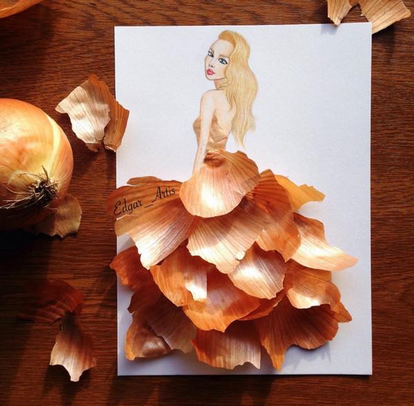 Edgar Artis:自然艺术与服饰灵感插画5