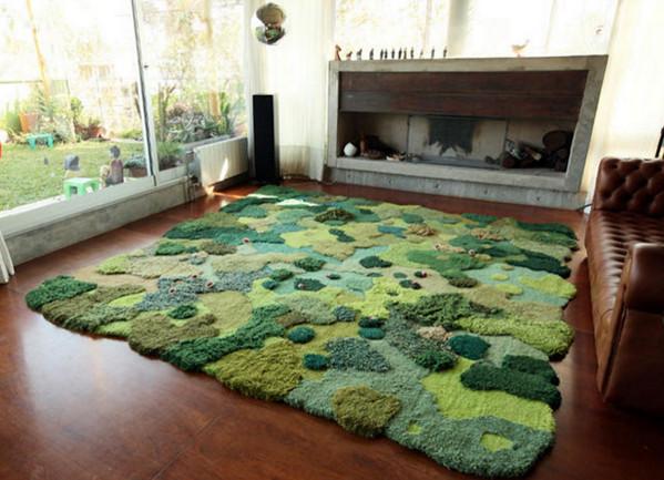 变废为宝:地毯废料变创意羊毛毯