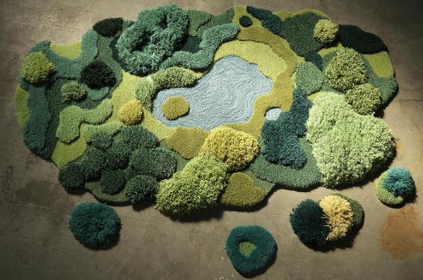 变废为宝:地毯废料变创意羊毛毯2