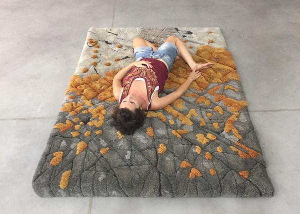 变废为宝:地毯废料变创意羊毛毯5