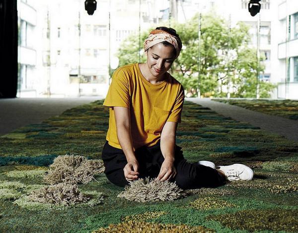 变废为宝:地毯废料变创意羊毛毯6