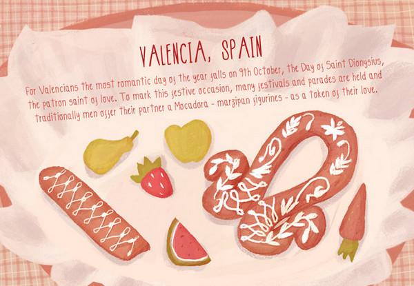 Valentine's Day:西班牙瓦伦西亚情人节