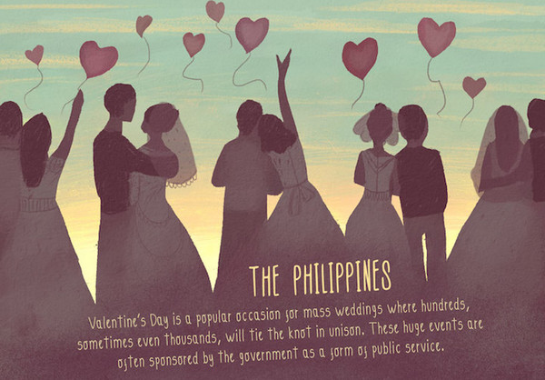 Valentine's Day:菲律宾情人节