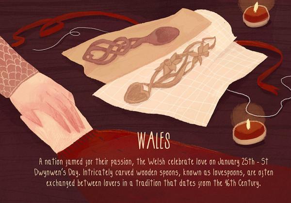 Valentine's Day:威尔士情人节