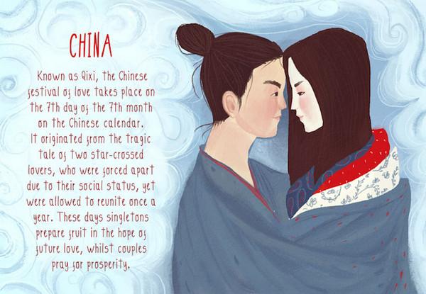 Valentine's Day:中国七夕情人节