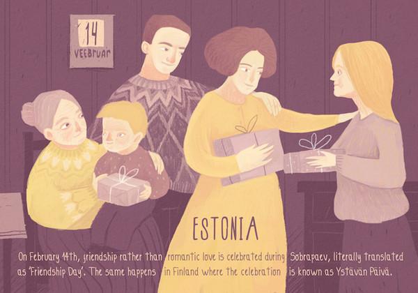 Valentine's Day:爱沙尼亚情人节