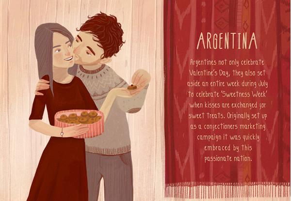 Valentine's Day:阿根廷情人节