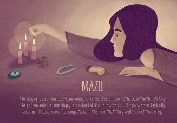 Valentine's Day:巴西情人节