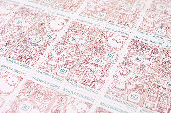 Boglarka Nadi 童话世界邮票设计3
