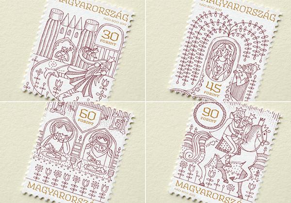 Boglarka Nadi 童话世界邮票设计8