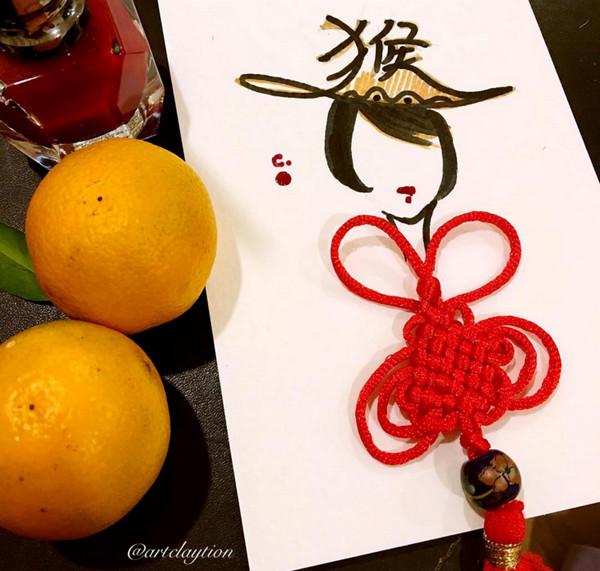 ChanClayrene 指甲油服饰渲染艺术5
