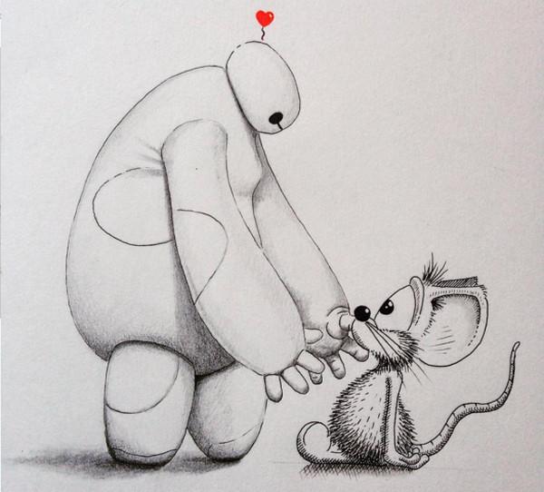 Apredart 小老鼠神奇之旅绘画2
