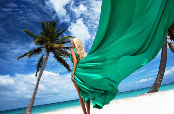 《背影》只可远观不可亵渎壁纸,海滩,美女