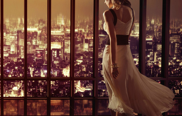 《背影》只可远观不可亵渎壁纸,城市,办公室,时尚,美女