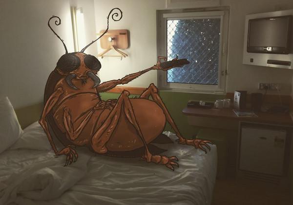 TailJar 恶搞城市生活图集,蟑螂