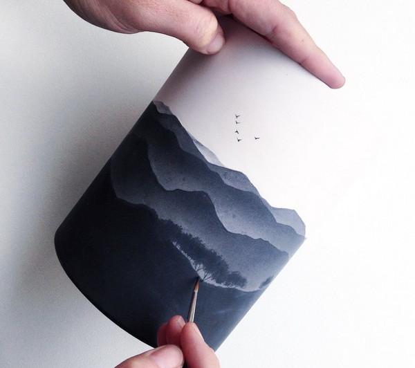 Niharika Hukku 白陶绘画艺术集6