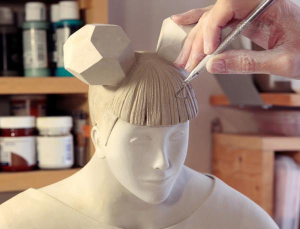 Irma Gruenholz 满是生活气息泥雕艺术2
