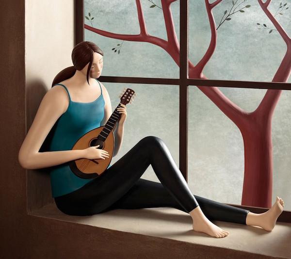 Irma Gruenholz 满是生活气息泥雕艺术5
