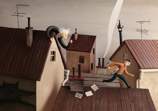 Irma Gruenholz 满是生活气息泥雕艺术7