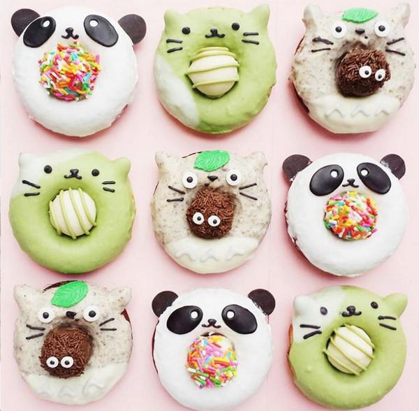 Vickie Liu 美味甜甜圈食品艺术4