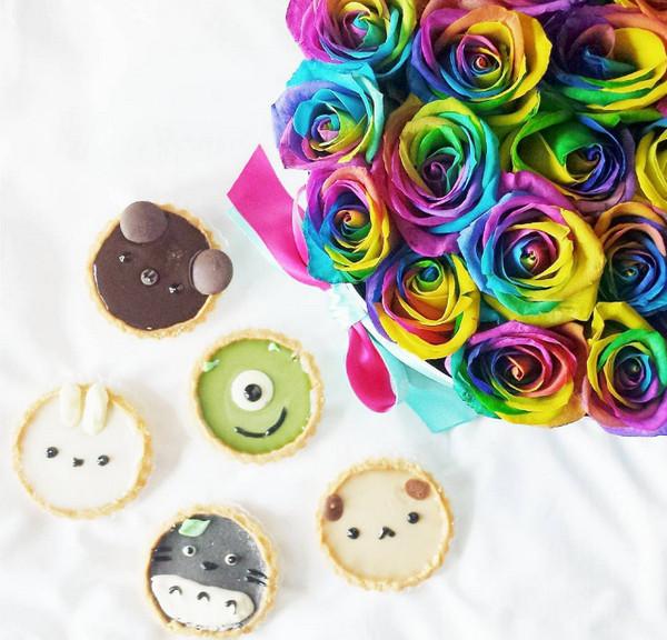 Vickie Liu 美味甜甜圈食品艺术7