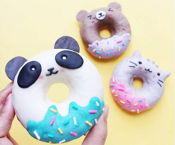 Vickie Liu 美味甜甜圈食品艺术8