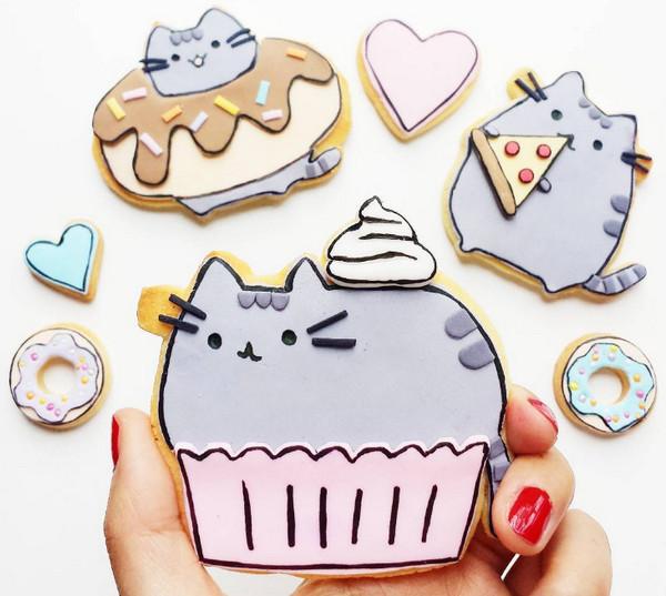 Vickie Liu 美味甜甜圈食品艺术9
