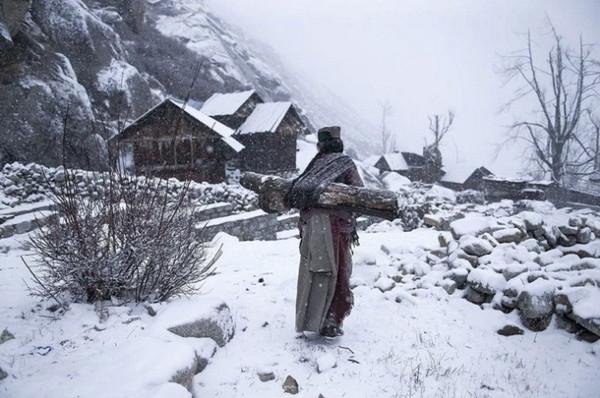 人物类三等奖《零下21℃的边远生活》印度摄影师MATTIA PASSARINI