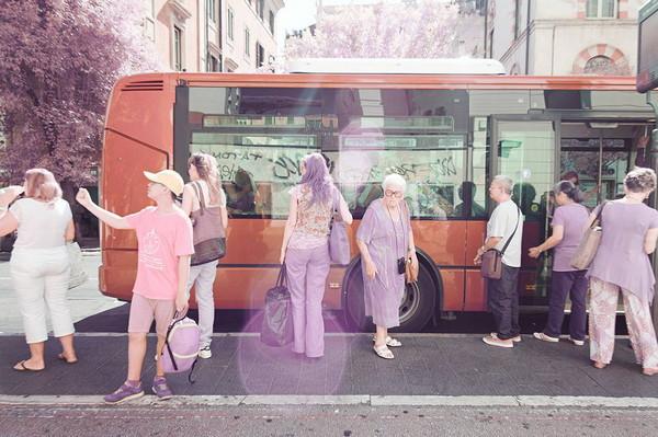 Milan Racmolnar 粉红世界红外线摄影集3