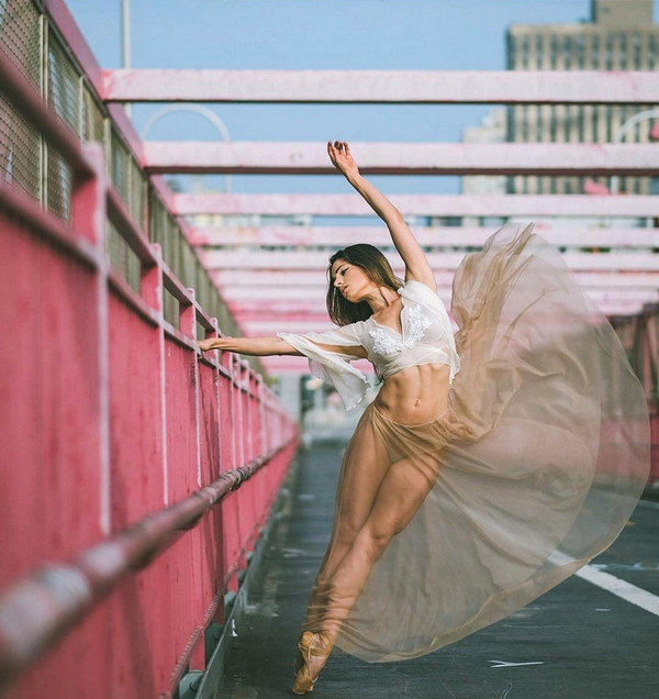Omar Robles 街头芭蕾舞肖像摄影集2