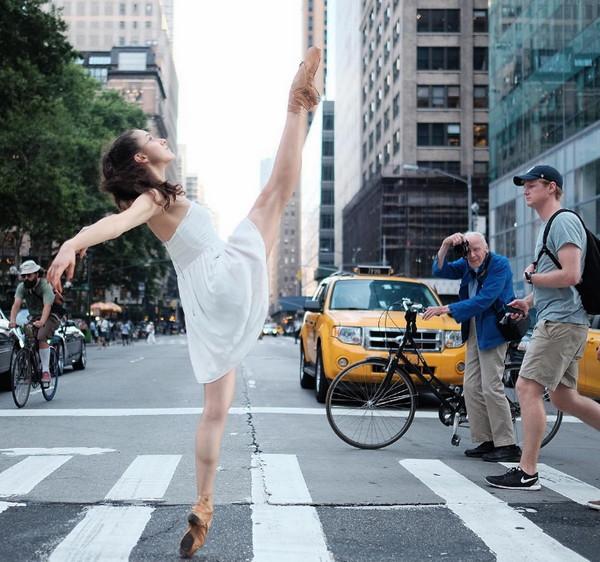 Omar Robles 街头芭蕾舞肖像摄影集9