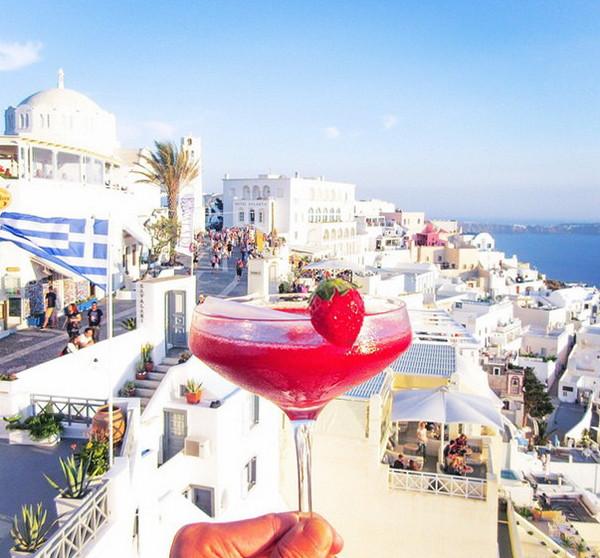 希腊-草莓鸡尾酒Daiquiri