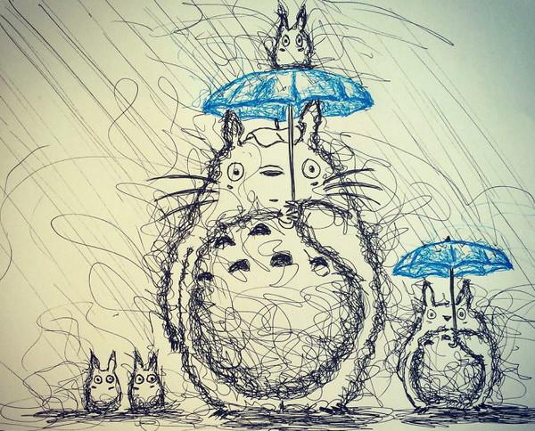 Jimmy Matlik 手抖式绘画风格作品集