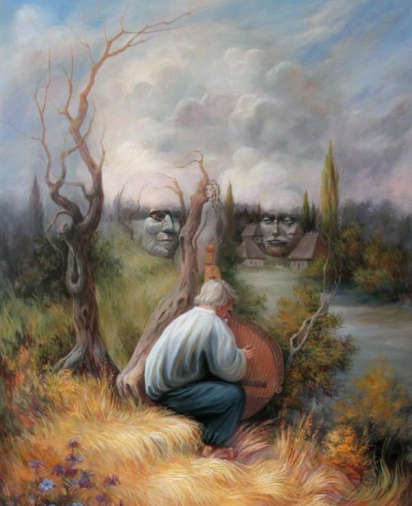 Oleg Shupliak 画中画错觉绘画艺术3