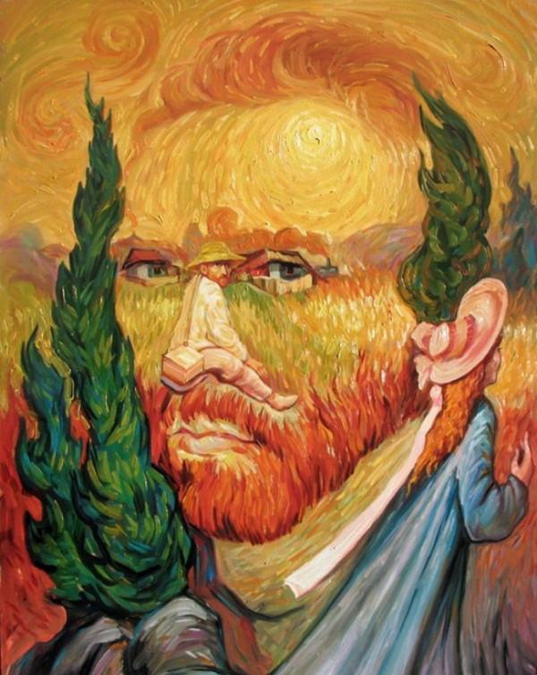 Oleg Shupliak 画中画错觉绘画艺术4