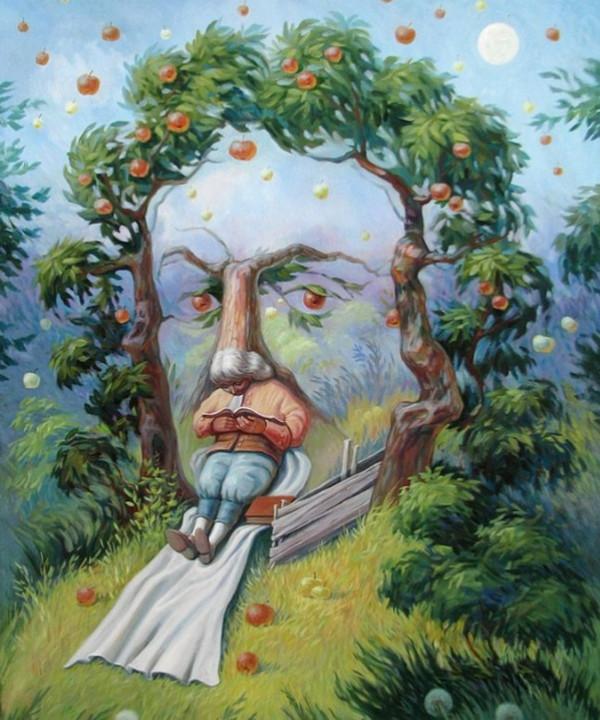 Oleg Shupliak 画中画错觉绘画艺术9