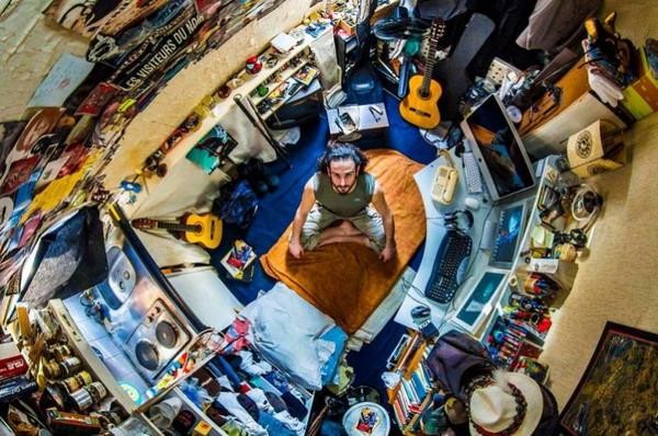 上帝模式摄影:我的房间