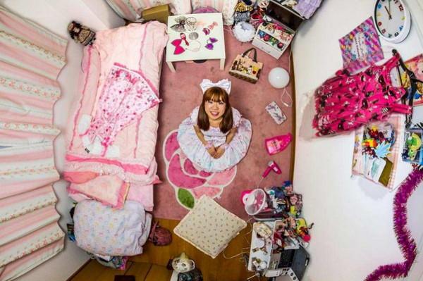 上帝模式摄影:我的房间,日本