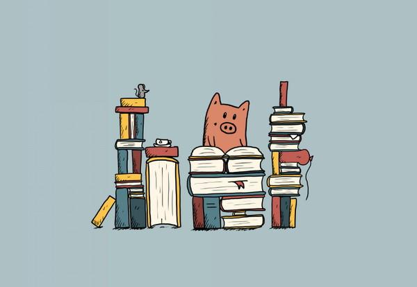 《Leave a Stroy》用插画讲述一个故事,大学生活