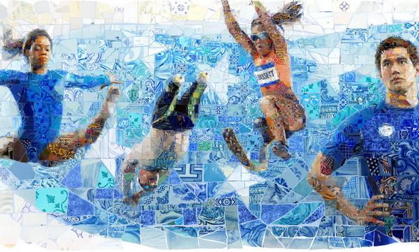 Charis Tsevis 拼图式视觉艺术设计2