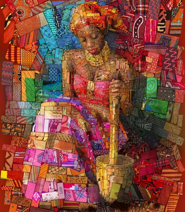 Charis Tsevis 拼图式视觉艺术设计5