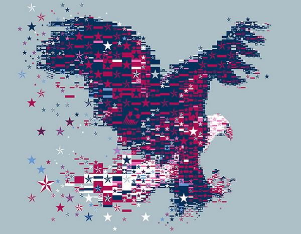 Charis Tsevis 拼图式视觉艺术设计9